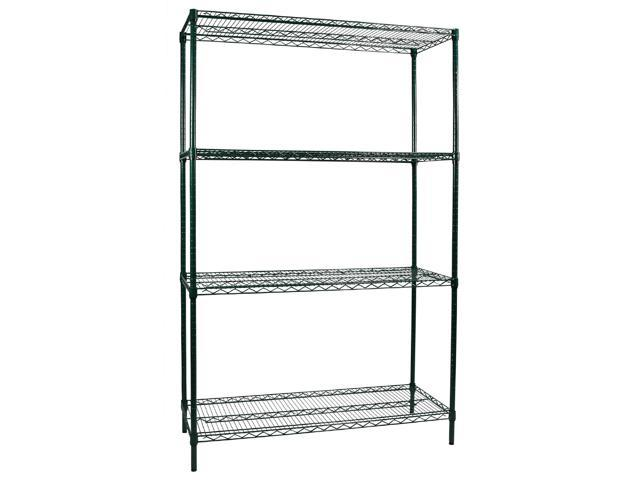 Green Wire Shelving Racks - WIRE Center •