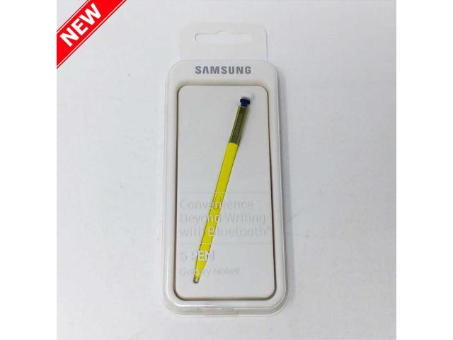 Original Official Samsung S Pen Stylus, Bluetooth enabled, for Galaxy Note 9 - Yellow