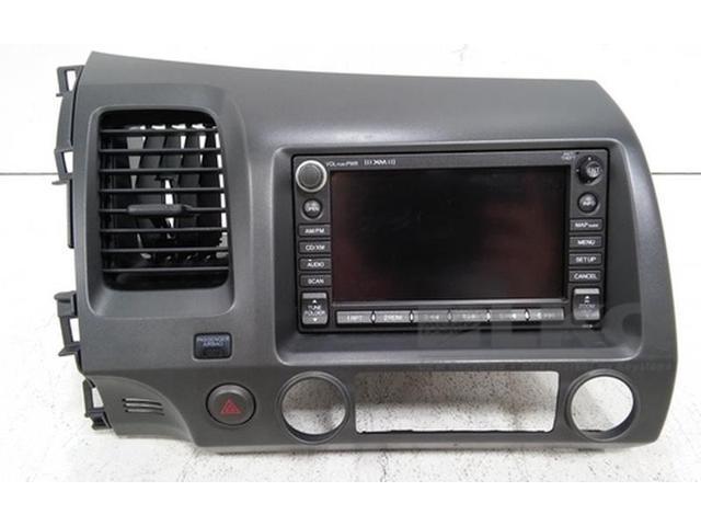 2007 Honda Civic Gps Navigation Radio Cd Player W Xm Dash Trim Bezel Oem