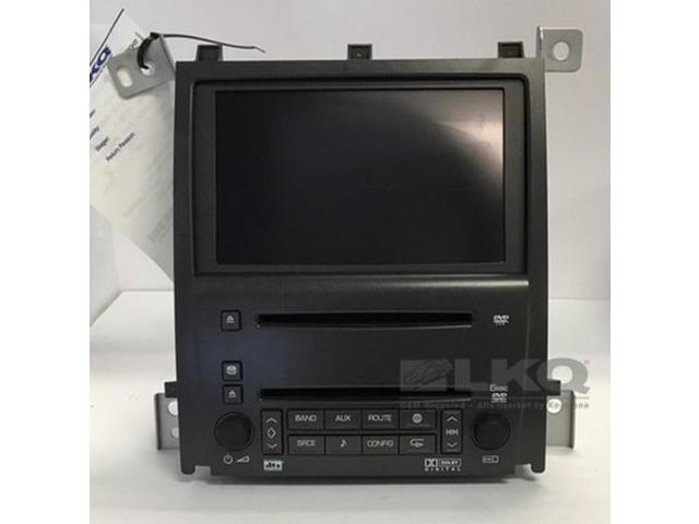 09 10 11 Cadillac Sts Dvd Player Radio W 6 Disc Cd Changer Navigation