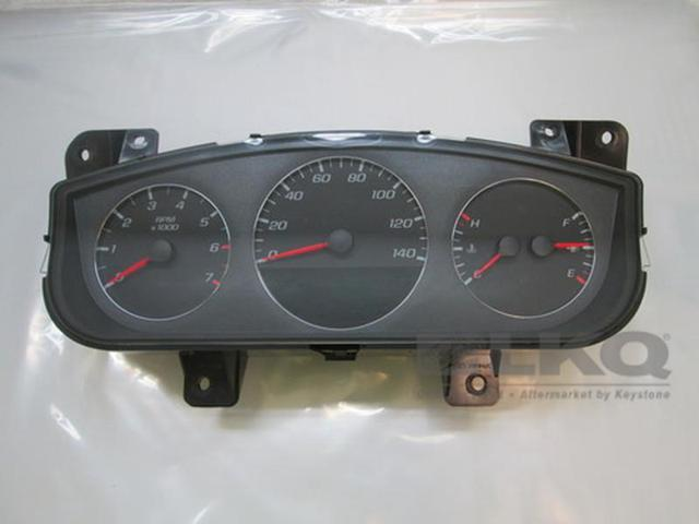 09 10 11 chevy impala oem option uh8 speedometer cluster 96k lkq