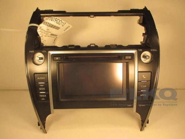 2012 Toyota Camry CD Player Radio w/ Display Screen P10067 OEM - Newegg com