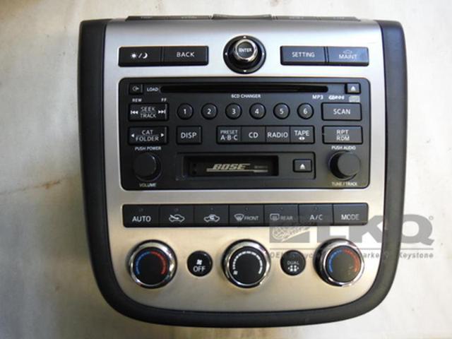 2006 2007 Nissan Murano Radio 6 Disc Cd Changer Cassette Bose Rhnewegg: 2006 Nissan Murano Radio At Gmaili.net