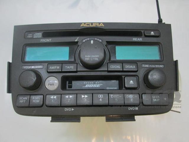 Acura MDX OEM Bose Cassette CD Player Radio XF CQJHZ - Acura mdx cd player
