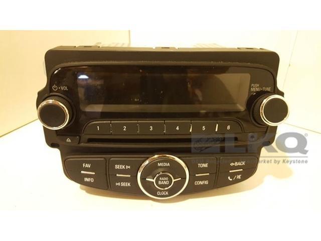 2014 14 Chevrolet Trax Single Disc Cd Player Radio Oem Newegg