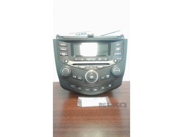 2003 2007 Honda Accord 6 Disc Cd Player Radio 7by0 Oem