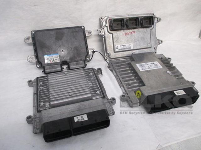 2017 Ford Focus Engine Computer Module Ecu Ecm Pcm Oem 66k Miles Lkq 156887416