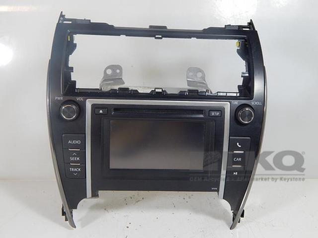 13 14 Toyota Camry Cd Player Radio Display Screen 86140 06011 Oem 57076 Newegg