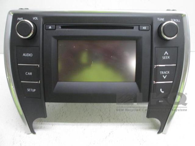 16 17 Toyota Camry CD Media Display Radio Receiver 100614 OEM LKQ -  Newegg com