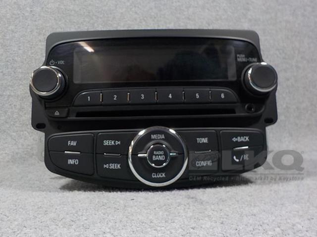 2015 2016 Chevrolet Trax Cd Player Mp3 Usb Radio Oem Newegg