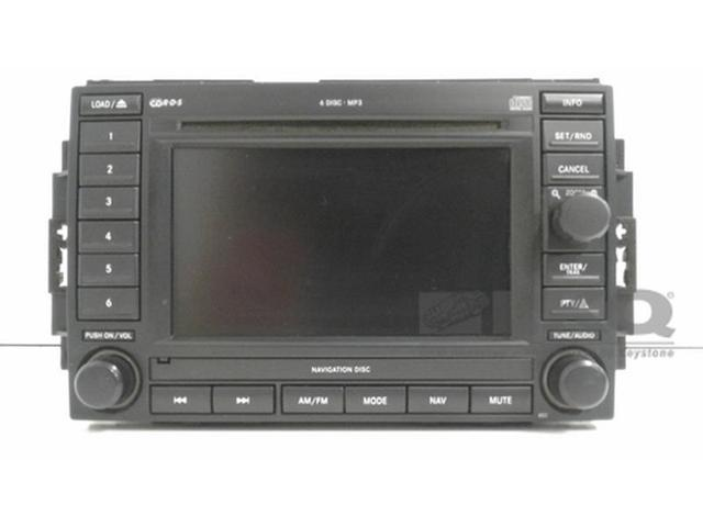 04 06 2004 2006 Dodge Durango Cd Player Radio Navigation Oem