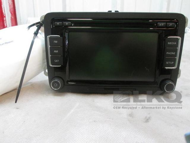 2017 Volkswagen Jetta Am Fm Radio Cd Player Oem