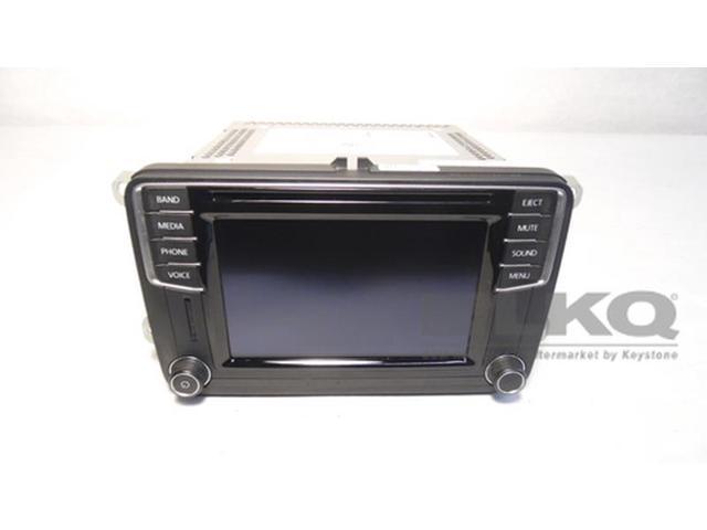 Used - Good: 2016 Volkswagen Tiguan CD Player HD Radio Receiver w/ Display  5C0 035 200 OEM - Newegg com