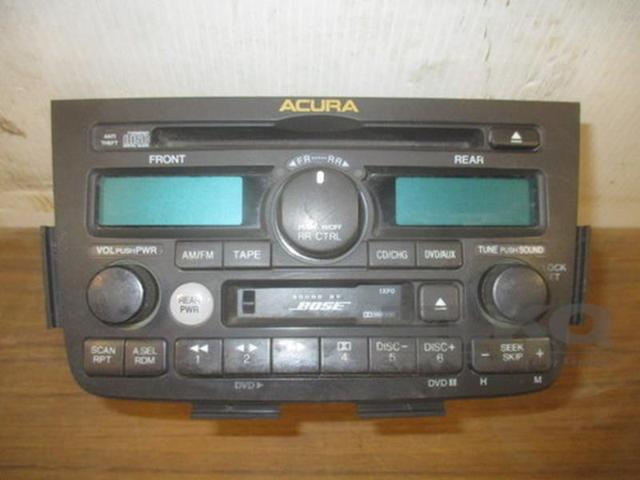 Acura MDX Bose Cassette Disc CD Player Radio OEM - Acura mdx cd player