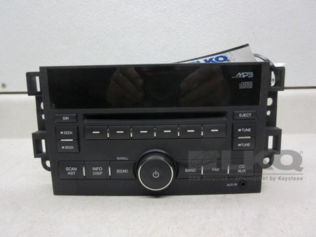 2009 Chevrolet Aveo Cd Player Radio Oem Newegg