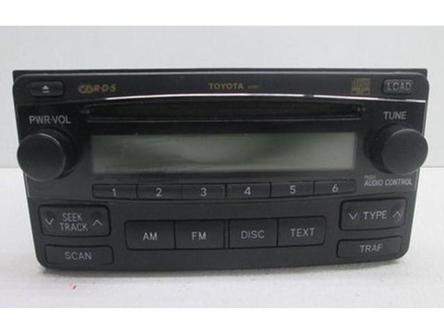 04 05 06 07 08 Toyota Matrix Mp3 6 Disc Cd Radio Receiver A51817 Oem Lkq