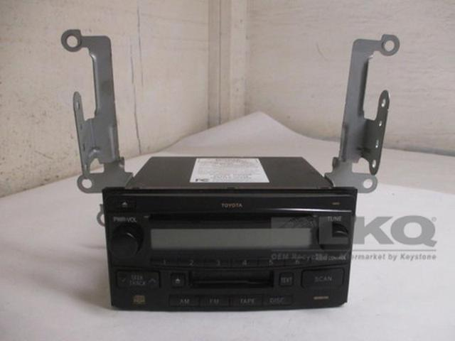 toyota highlander echo single disc cd cassette tape player radio rh newegg com