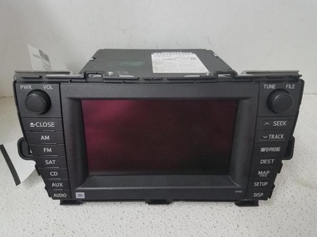 2010 toyota prius radio not working