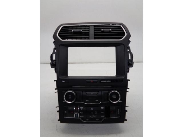 2017 Ford Explorer Radio Control Panel W Dual Zone Temperature Unit Oem