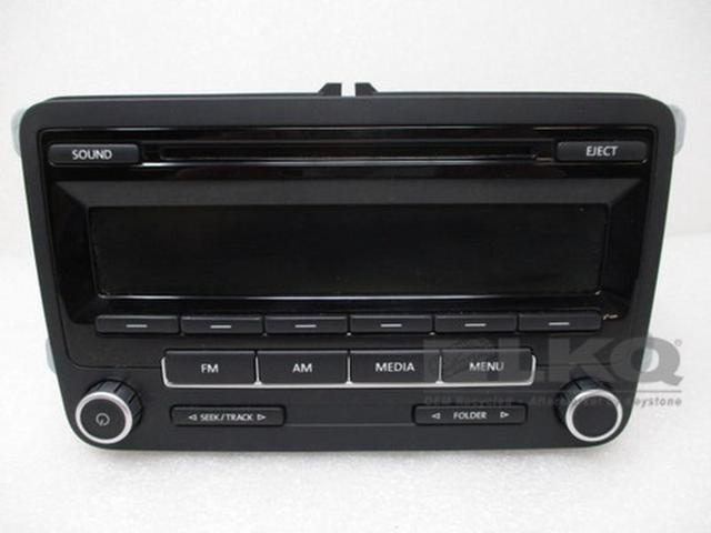 12-14 Volkswagen Jetta AM FM Single CD Radio 1K0035164D OEM - Newegg com