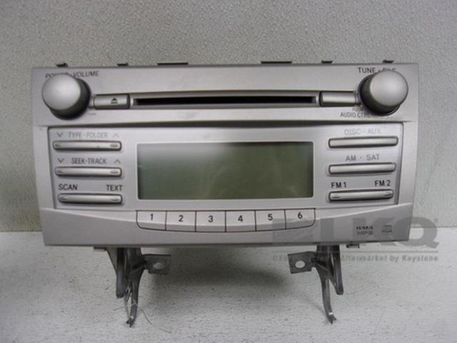 10 11 Toyota Camry Cd Player Fujitsu Ten Radio Receiver 11846 Oem 86120 06480