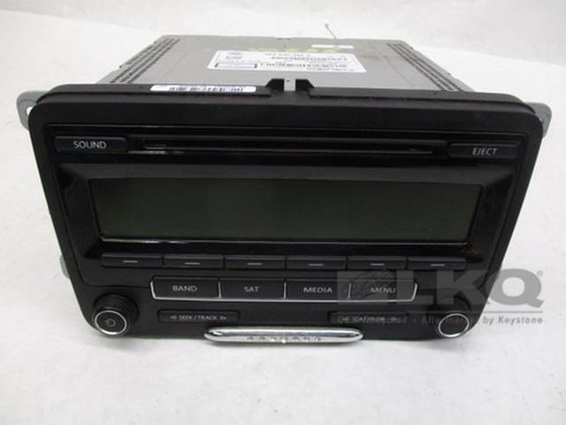 2017 2016 Volkswagen Jetta Radio Receiver Single Cd Player 1k0035164j Oem Newegg