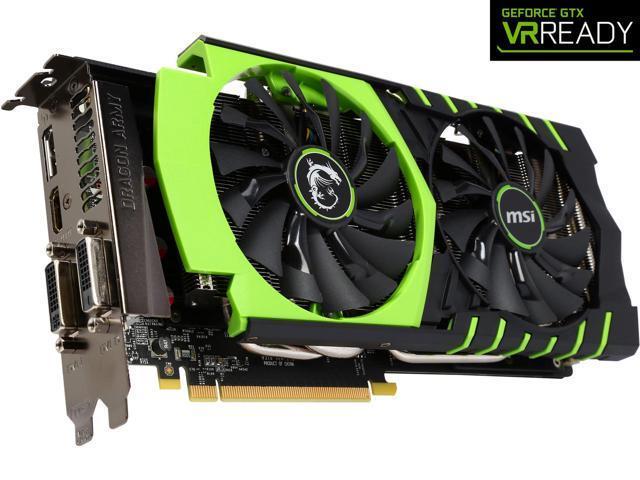 Refurbished: MSI LIMITED GAMING Edition GeForce GTX 970 4GB OC DirectX 12  VR Ready (GTX 970 GAMING 100ME) - Newegg com