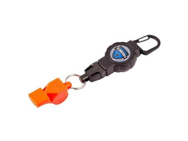 T-Reign Retractable Gear Tether w/FOX40 Whistle 0TBP-0201 - Newegg com