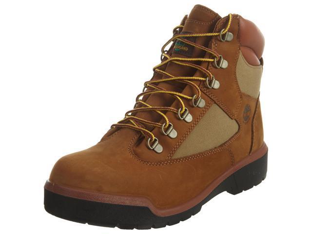 Timberland 6 Inch Waterproof Field Boot Black Men's Boots 98518