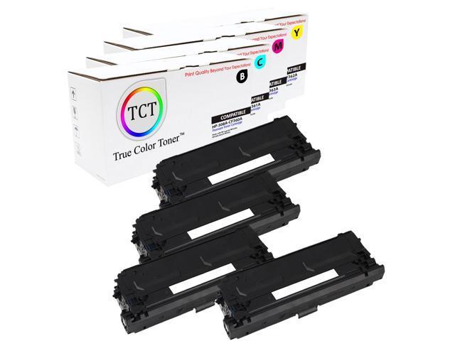 TCT 4PK 128A Toner Set CE320A CE321A CE322A CE323A HP Color LJ CP1525 CM1415