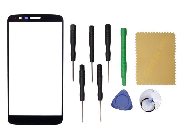 Black Outer Front Screen Glass Lens Replacement For LG Stylo 3 LS777+Tools  - Newegg com