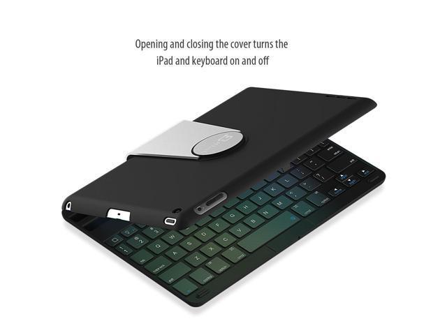 c3afcff9b5f iPad Keyboard, JETech® Wireless Bluetooth Keyboard Case for Apple iPad 2/3/