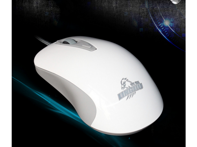 Computer Gaming Mouse Frisby GMX4 Laptop PC 6 Buttons 2000 DPI Optical Game Mice