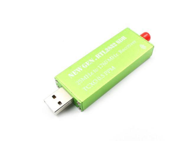 Popular Premium USB HUB RTL-SDR w/ 0 5PPM TCXO Metal Case SMA R820T2  RTL2832U SP - Newegg com