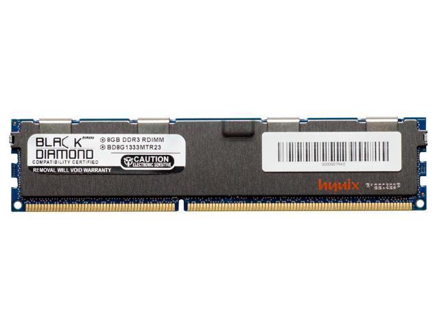 8GB RAM Memory for Compaq HP Z Series Workstations Z820 Workstation Black  Diamond Memory Module DDR3 ECC Registered RDIMM 240pin PC3-10600 1333MHz