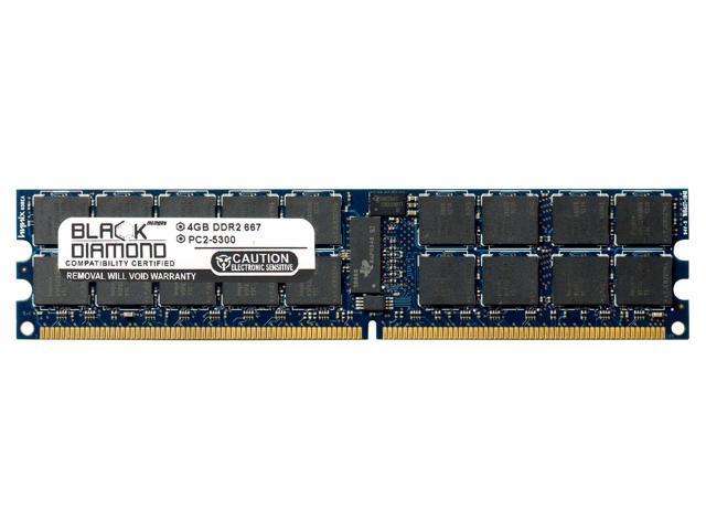 4GB RAM Memory for Sun Fire X4150 Server 240pin PC2-5300 DDR2 ECC  Registered RDIMM 667MHz Black Diamond Memory Module Upgrade - Newegg com