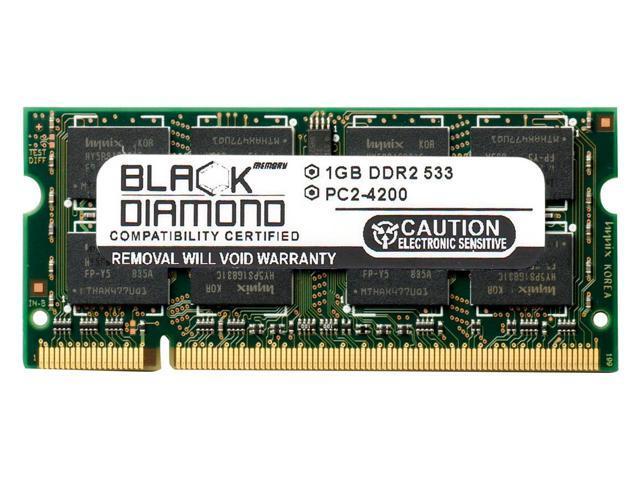 1GB Black Diamond Memory Module For Asus Eee PC 1000HE DDR2 SO DIMM