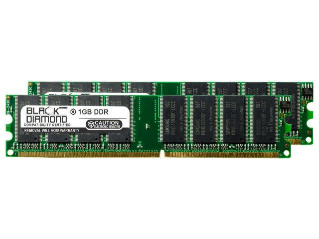 2X1GB 2GB DDR Memory eMachines T3065