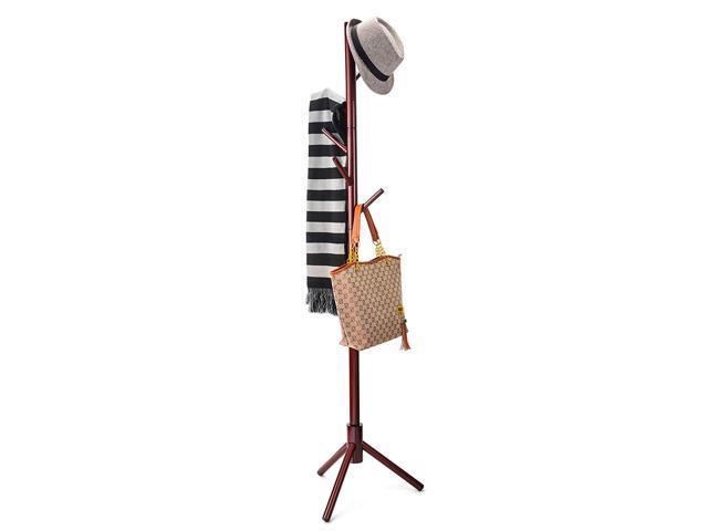 71ed3d530a Premium Wooden Coat Rack Free Standing