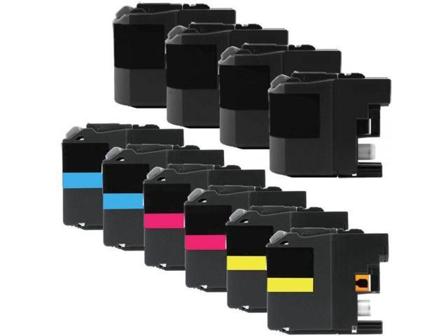 6-BK//2-C//M//Y - Generic LC-209BKXXL6BK2CMY AIM Compatible Replacement for Brother MFC-J5320//5720 High Yield Inkjet Combo Pack