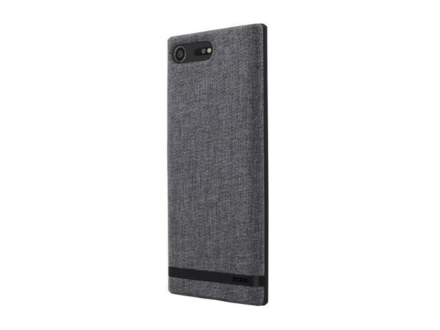 the latest d7721 92ab8 Incipio Carnaby Sony Xperia XZ Premium Case [Esquire Series] with Co-Molded  Design and Ultra-Soft Cotton Finish for Sony Xperia XZ Premium - Gray - ...