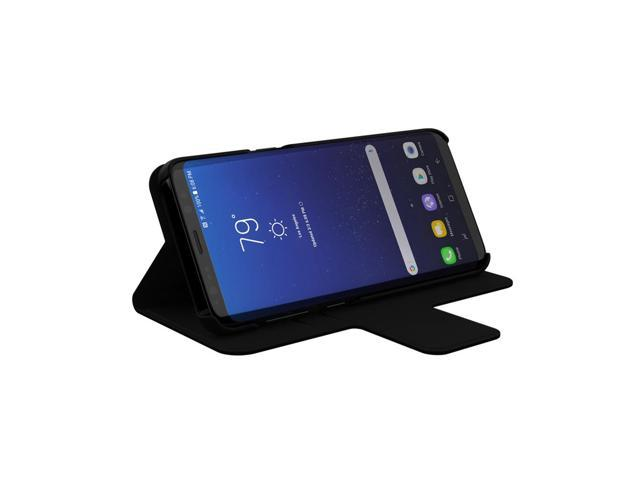check out c517f 2e965 Samsung Galaxy S8 Case, Incipio [Lightweight] [Wallet] Breve Folio Case for  Samsung Galaxy S8-Black/Black - Newegg.com
