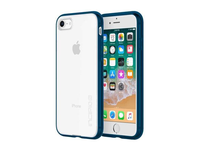 finest selection a34fa 5807e Incipio Octane Pure iPhone 8 Case with Shock-Absorbing Bumper and Clear  Back Shell for iPhone 8 - Navy - Newegg.com