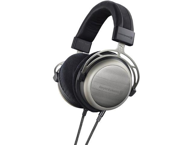 T1 2nd Generation Audiophile Stereo Headphones with Dynamic Semi-Open Design (Silver)