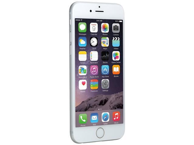 0ae1993a532 Reconstruido: Apple iPhone 6, plata, 16GB, Verizon--MG5X2LL/A - Newegg.com