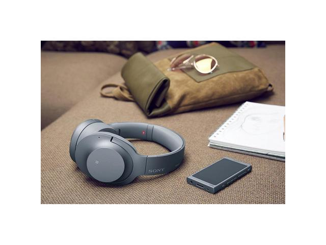 31dfb1f5e4fd85 Sony WHH900N/L Hi-Res Noise Cancelling Wireless Bluetooth Headphones, Blue