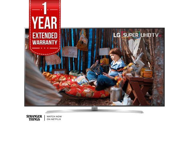 LG SUPER UHD 75 4K HDR Smart LED TV 2017 Model 75SJ8570 with Extended Warranty