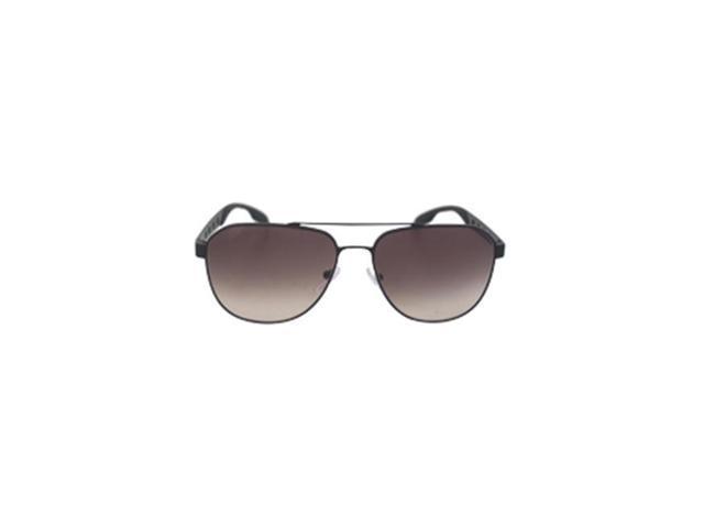 0779a6539abc ... wholesale prada m sg 2021 pr 51rs 1bo0a7 matte black mens sunglasses 60  e395f b4995 ...