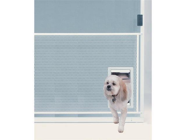 Ideal Pet Products Ipp Sgm Screen Guard Pet Door Medium Newegg