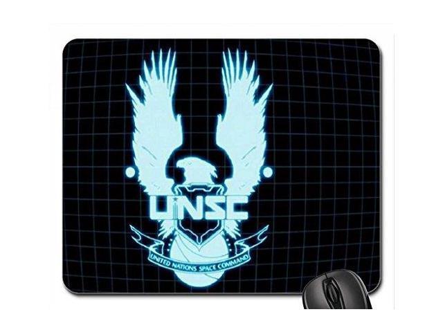 unsc logo mouse pad mousepad 9 x 10 newegg com